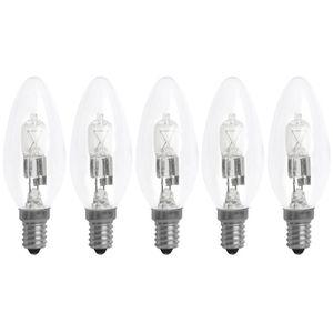 AMPOULE - LED XQ-Lite Lot de 5 Ampoules Eco Halogène E14 30W