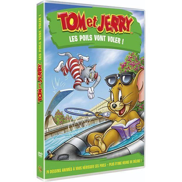 DVD Tom et Jerry : les poils vont voler