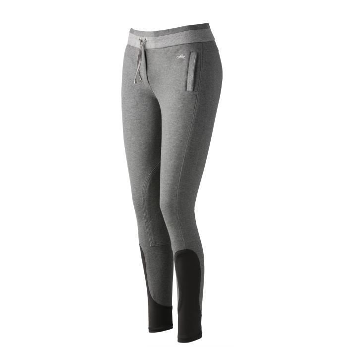 EQUI-THEME Pantalon d'équitation Pull-On - gris - femme