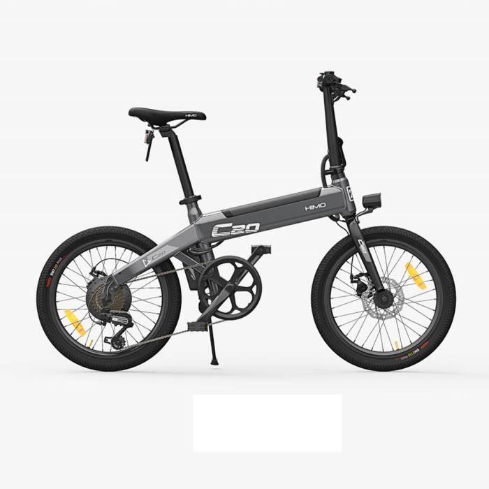 Nouveau vélo électrique, moteur Ebike pliable léger HIMO C20 250W 36V vitesse maximale 25 km / h capacité de charge 100 kg