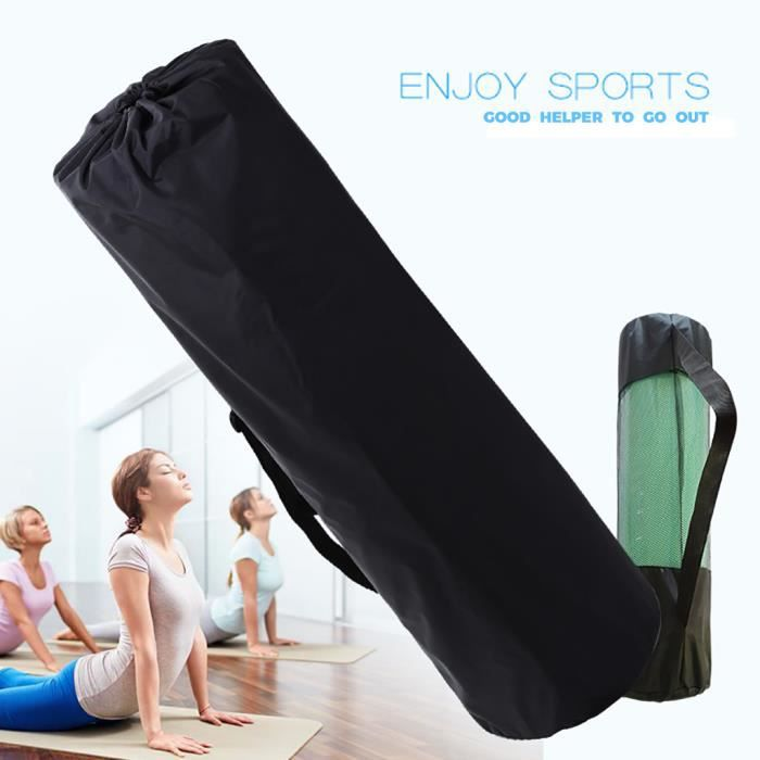 Tapis de yoga Sac à dos Tapis de yoga Sac en filet respirant Épais Sac à dos étanche yoga fitness 859