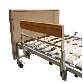 Demi-barrière pour lits électriques