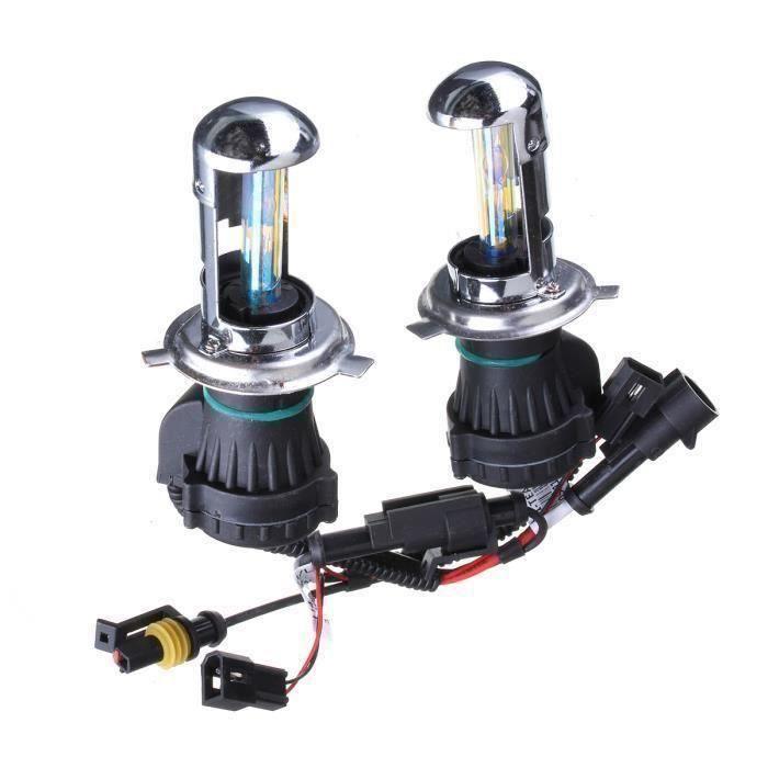 LED Ampoules 55W - H4 H - L - 5000K H4 H - L 2X H4 - H13 - 9004-9007 35W - 55W HID Bi-Xenon Salut - Lo à double faisceau Kit My14382