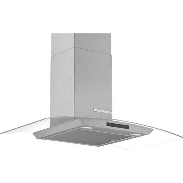 Bosch Serie 4 DWA96DM50 Hotte hotte décorative largeur : 90 cm profondeur : 48.8 cm extraction et recirculation (avec kit de…