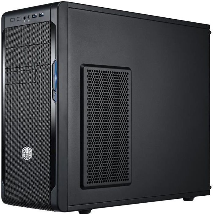 COOLER MASTER LTD BOITIER PC N 300 - Noir - Format ATX