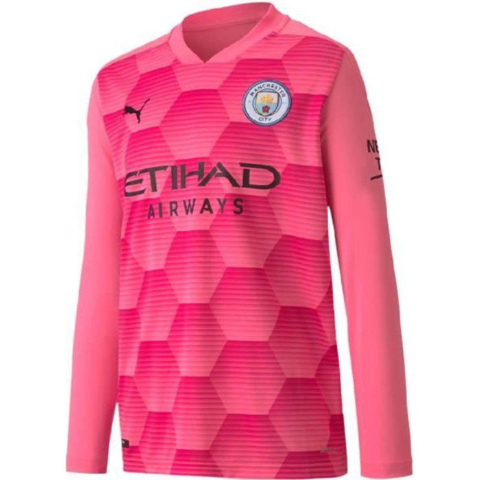 Manchester City Maillot Gardien Replica Junior Puma 2020/21
