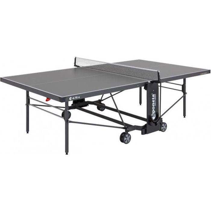 table en plein air table de ping - S4-70 e gris 274 x 152,5 x 76 cm