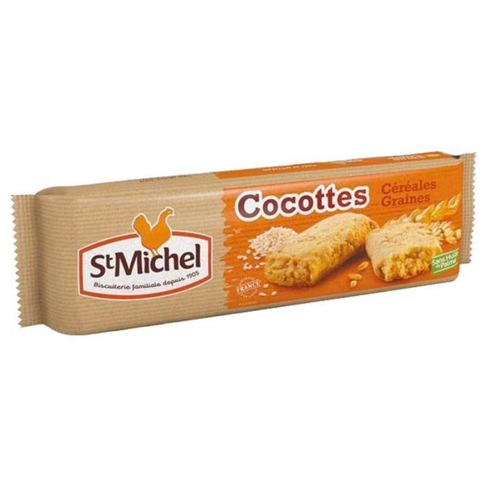 St Michel Cocottes Céréales et Graines 140g (lot de 10 x 3 paquets)