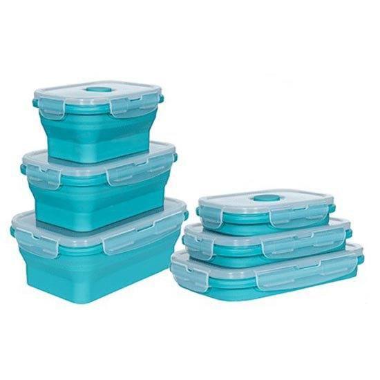Camping Articles de cuisine Trespass Lunchset - Taille Unique - Bleu