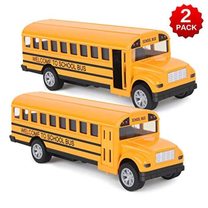 Véhicule Jouet Play Set-Nouveau Peppa Pig School Bus Toy pousse