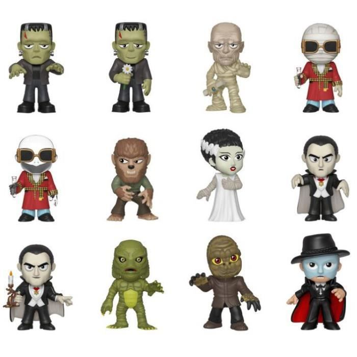 STATUE - STATUETTE Monstres Universels Mystery Minis - Saison 2 Funko
