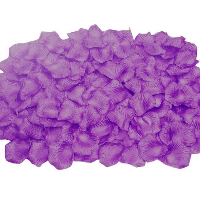 bluelans/® 1000/x P/étales de Rose en Soie Or confettis D/écoration de table D/écoration