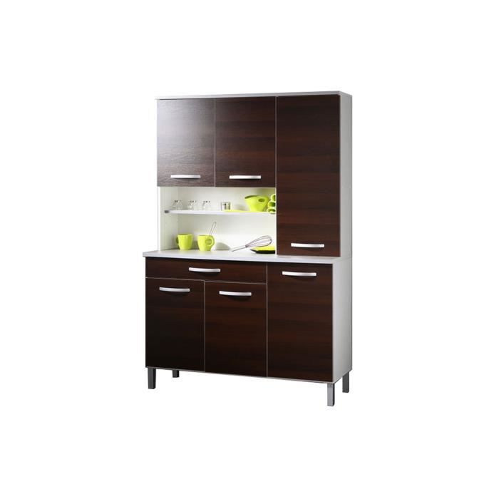 buffet cuisine weng 120 x 181 cm colori achat vente buffet bahut buffet cuisine weng 120. Black Bedroom Furniture Sets. Home Design Ideas