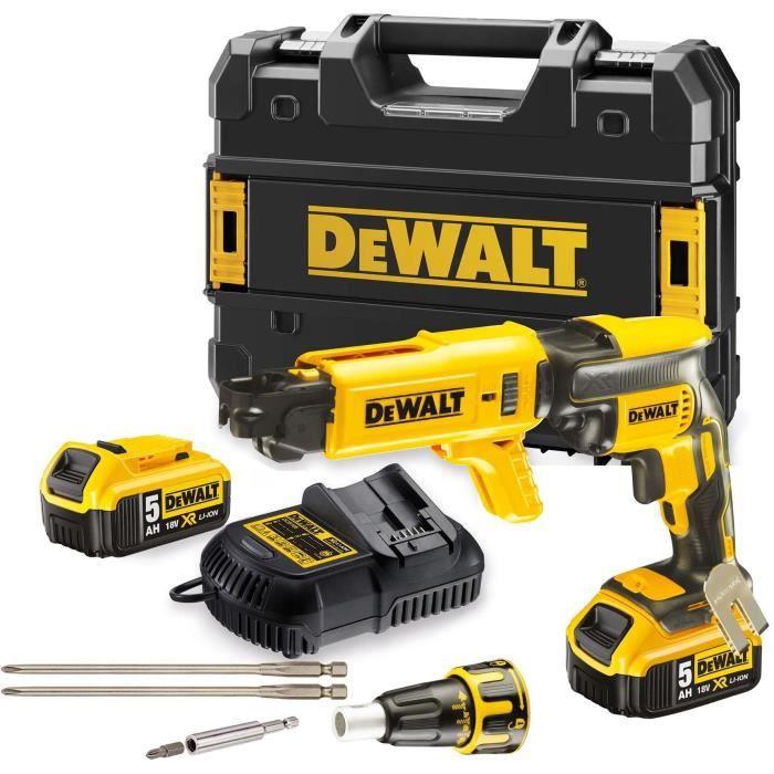 DeWalt DCD796N 18 V Brushless Combi perceuse avec 1 x 5.0Ah Chargeur de Batterie en cas