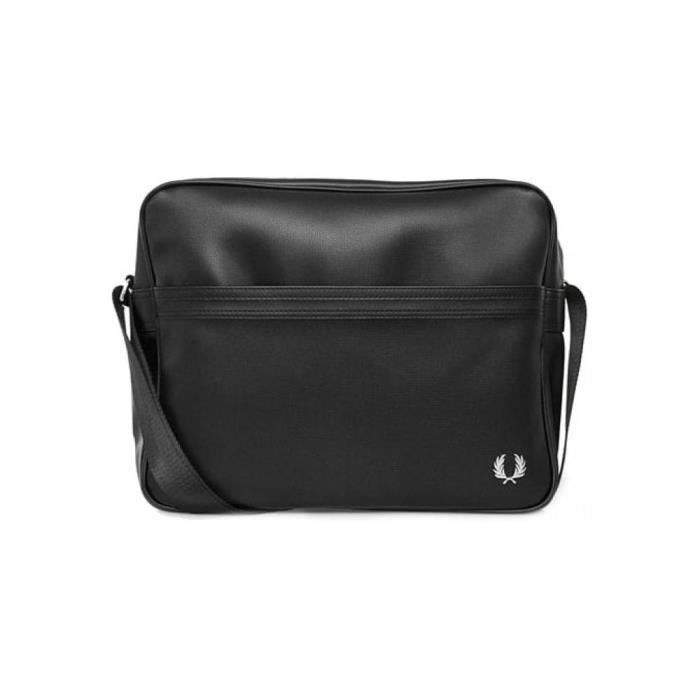 a76767595a BESACE - SAC REPORTER Sac Messenger Fred Perry Classic Shoulder Bag / Bl