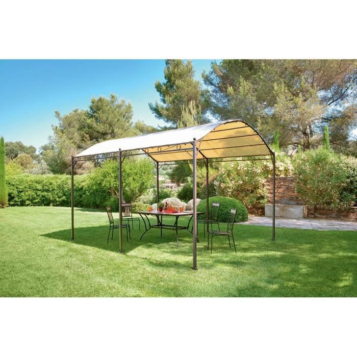 pergola arche calvi 4x3 m hesperide achat vente tonnelle barnum pergola arche calvi 4x3 m. Black Bedroom Furniture Sets. Home Design Ideas