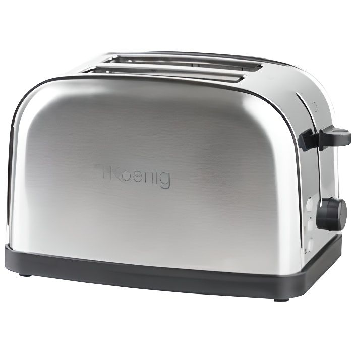 h koenig tos7 grille pain inox achat vente grille pain toaster cdiscount. Black Bedroom Furniture Sets. Home Design Ideas