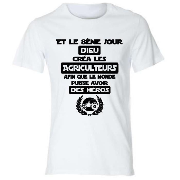 Tee-shirt personnalisé Spécial AGRICULTEURS,