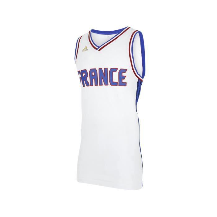 ADIDAS Maillot Basket Ball France FFBB