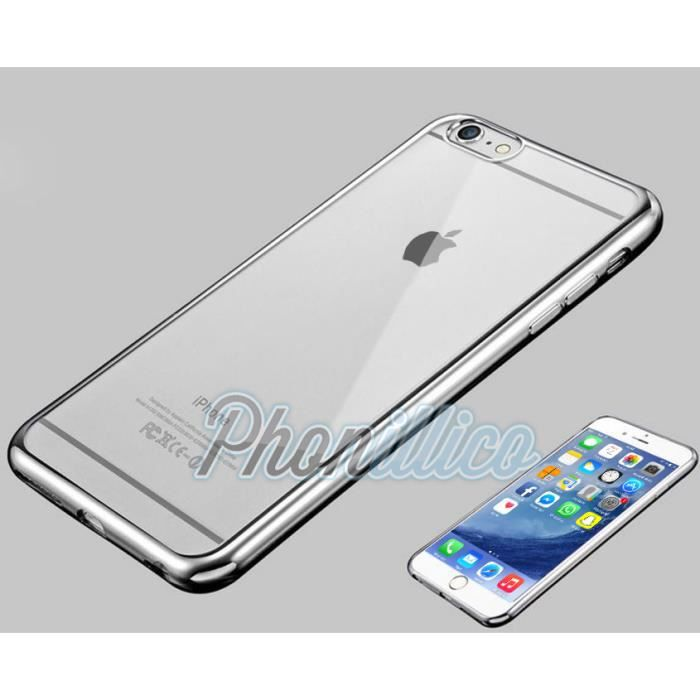 coque iphone 7 plus chrome
