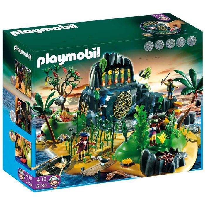 playmobil 5134 ile myst rieuse des pirates achat vente. Black Bedroom Furniture Sets. Home Design Ideas