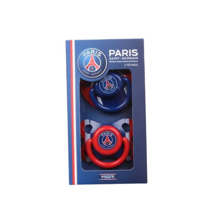 ACCESSOIRES SUCETTE  Un lot de 2 tétines Paris Saint Germain - bleu - b