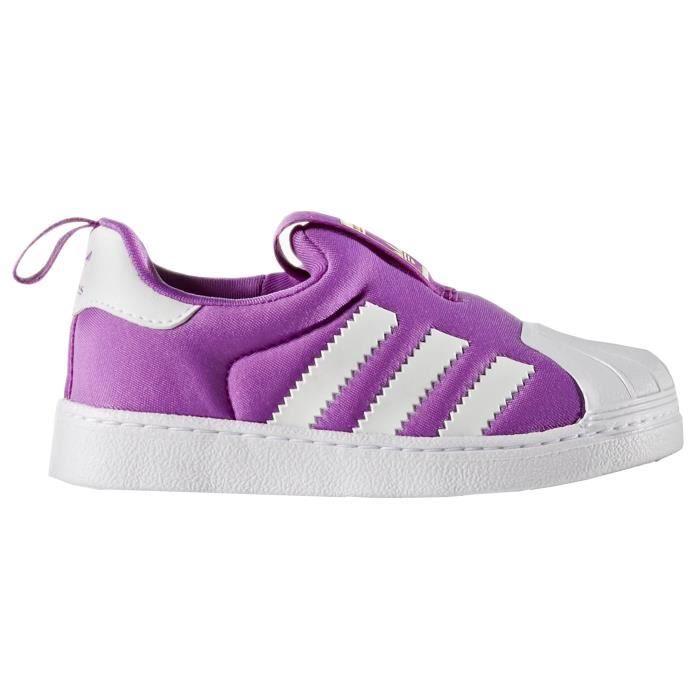 ADIDAS ORIGINALS Baskets Superstar Chaussures Bébé Fille Violet et ...