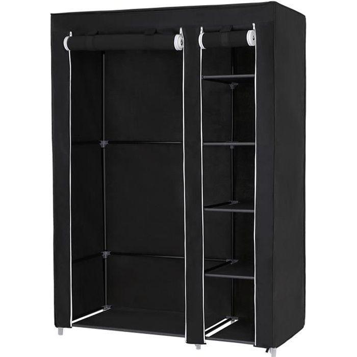 songmics armoire de rangement 110 x 45 x 175 cm  penderie