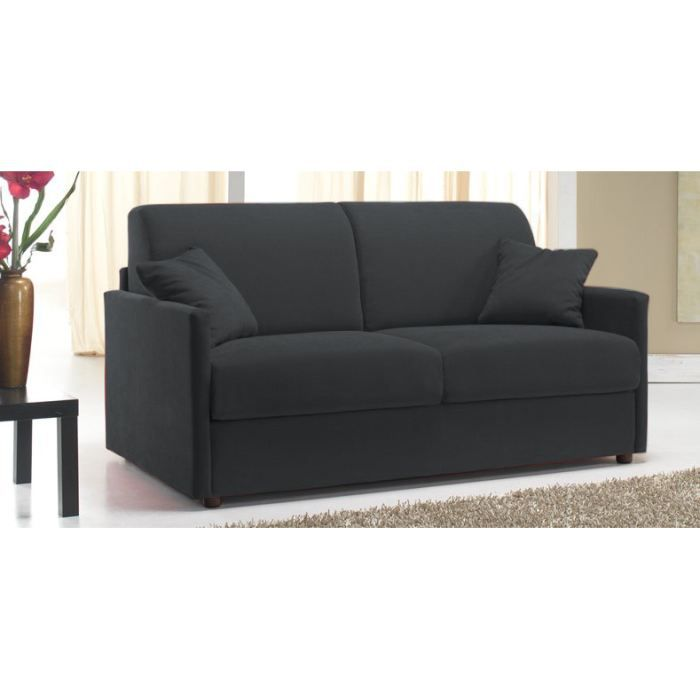 canap convertible rapido star microfibre achat vente canap sofa divan cdiscount. Black Bedroom Furniture Sets. Home Design Ideas