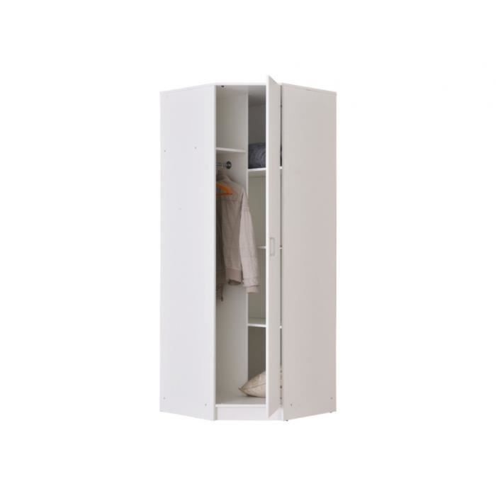 Armoire angle achat vente pas cher for Armoire dressing angle