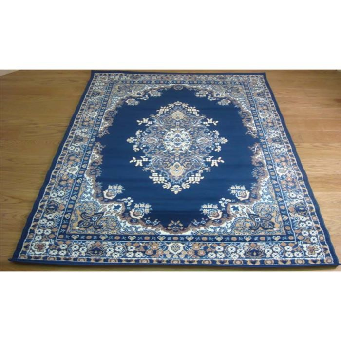 persian 6210 bleu tapis classique cm 180x270 achat vente tapis cdiscount. Black Bedroom Furniture Sets. Home Design Ideas
