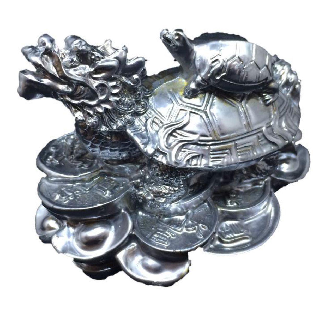 Bouddha Rieur Signification Position tortue dragon argenté : travail et santé