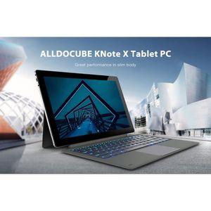 TABLETTE TACTILE ALLDOCUBE KNote X - Ordinateur 2 en 1 avec clavier