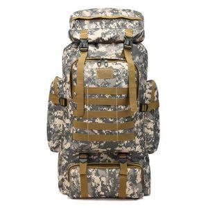 SAC À DOS DE RANDONNÉE Sac à dos de randonnée 60L pour le camouflage en m
