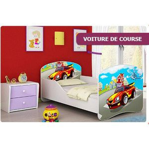 lit voiture de course achat vente lit voiture de course pas cher cdiscount. Black Bedroom Furniture Sets. Home Design Ideas