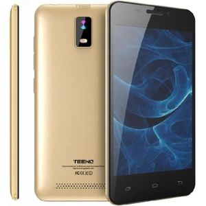 SMARTPHONE Teeno Smartphone HD 4G débloqué Or (Android 7.0 Do