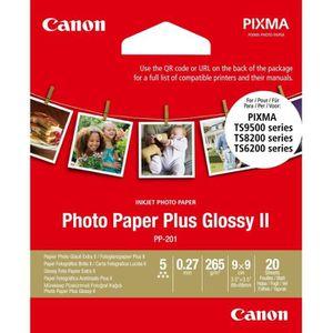 PAPIER IMPRIMANTE CANON Papier Photo Carré 9x9 cm