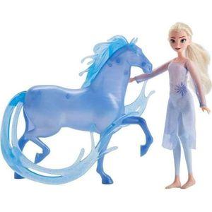 POUPÉE FROZEN II Elsa et Nokk