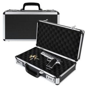 VALISE DE TRANSPORT HMF 14403-02 Valise a Pistolet en Aluminium, Malet