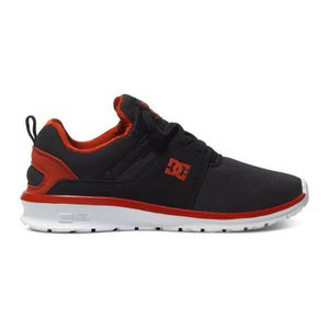 SKATESHOES Chaussures Enfant DC HEATHROW black red