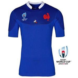 MAILLOT DE RUGBY Maillot Rugby France enfant RWC 2019 domicile