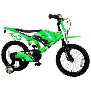 VÉLO ENFANT Vélo Enfants 16 Pouces Moto Cross Freins sur Le Gu