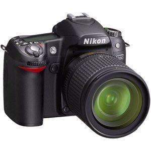 APPAREIL PHOTO RÉFLEX NIKON D80 Noir + 18-135 mm