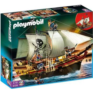 UNIVERS MINIATURE PLAYMOBIL 5135 Bateau d'Attaque des Pirates