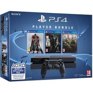 CONSOLE PS4 Console Playstation 4 + Jeu Bloodborne + Last of U