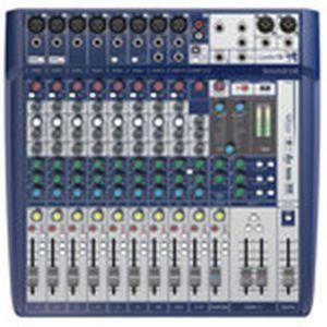 TABLE DE MIXAGE Soundcraft Signature 12 - Console de mixage 12 voi