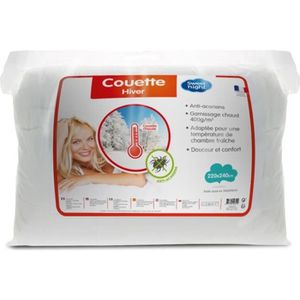 COUETTE SWEET HOME Couette Chaude Anti-Acariens SANITIZED