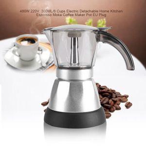 CAFETIÈRE 300ML Cafetière électrique 480 W 220V EU Plug--DQ