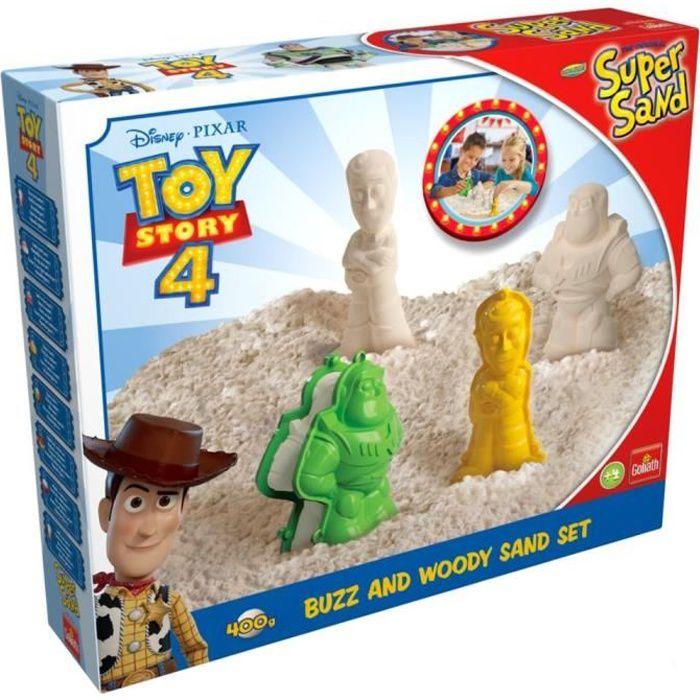 Goliath - Super Sand Toys Story 4 - Loisir créatif - Sable à modeler