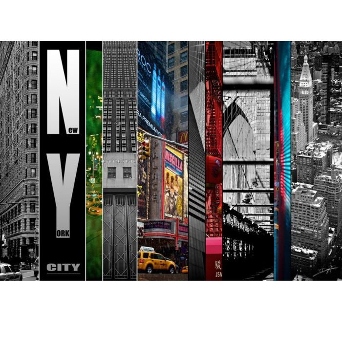 Tableau new york pas cher images - Tableau new york lumineux ...